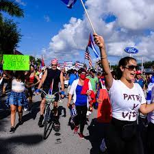 Miami is Embracing the Cuba Protests ...
