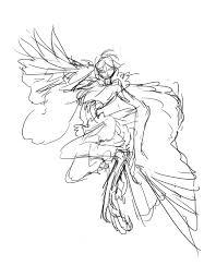 ヘッダーの鳥人イラストラフさくまるpixivfanbox