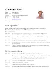 Cv Profile Examples For Students Sample Resume Free Resumes