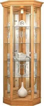 wood display cabinet corner glass display cabinet light oak effect solid wood display cabinet with glass