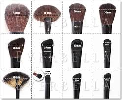 plete guide their uses which makeup brush to use kit sizes ranges may vary slightly with