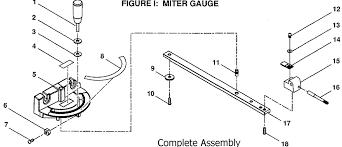 ryobi table saw miter gauge. bts20 miter gauge parts ryobi table saw a