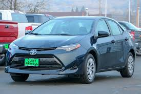 New 2018 Toyota Corolla LE 4dr Car in Roseburg #T18063 | Clint ...