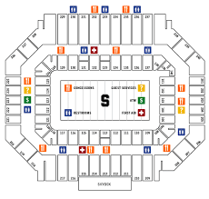 Stanford Stadium Seating Chart Stanford Cardinal 2017 Football Schedule