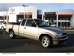 2000 Chevrolet S10 Extended Cab in Light Pewter Metallic - 135552 ...