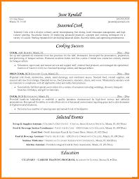 Cook Resume Line Cook Resume Sample Grill 100a Job Description Tips Highlights 65