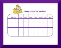 Disney Princess Behavior Chart Free Printable Disney Princess Behavior Charts