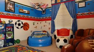 Little Boys Bedroom Furniture Kids Sports Room
