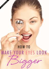 how to make your eyes bigger in 60 seconds flat