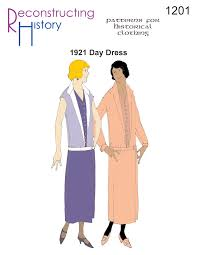 1920s Dress Patterns Fascinating RH48 48s Day Dress Reconstructing History