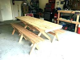 picnic table with detached benches picnic table with separate benches picnic table plans detached benches picnic