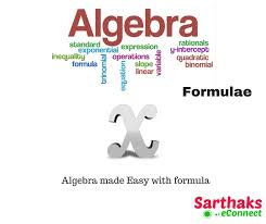 Algebra Formula Notes Example Chart Pdf Download For