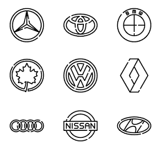 3 car brand icon packs - Vector icon packs - SVG, PSD, PNG, EPS ...