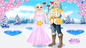 queen barbie princess married little princess prom salon free beauty s dress makeup game