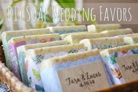 diy cute wedding favors with melt and pour soap crochet river rocks