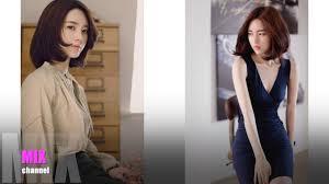 30 ทรงผมสน Yun Seon Young ไอดอลเกาหล สวยจนรองขอชวต