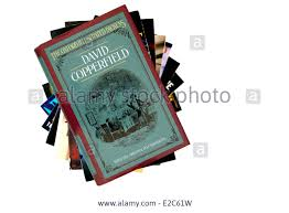 charles dickens novel david copperfield book title stacked used charles dickens novel david copperfield book title stacked used books england