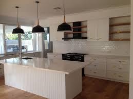kitchen black pendant lighting over marble calacutta island bench industrial french style kitchen island pendant