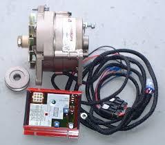 powerline 100 amp dual foot alternator kit atk20023a