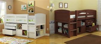 Children Organize Clutter Home Office Cabin Beds For Small Rooms Table  Bright Colors Color Pallet Contemporary ...