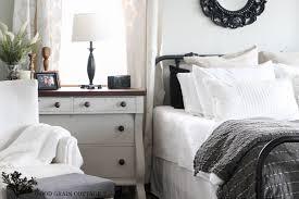 Nightstand For Bedrooms Master Bedroom Dresser Night Stand The Wood Grain Cottage
