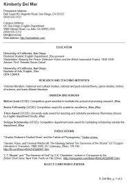 Resume Undergraduate Interesting Resume For College Undergraduate 48 Undergraduate