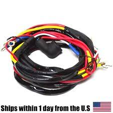 ford tractor generator ford wiring harness for 8n side distributor generator tractor models 8n14401c