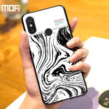 For Xiaomi Mi 8 Case Cover <b>Mofi For Xiaomi Mi8</b> Case Glass ...