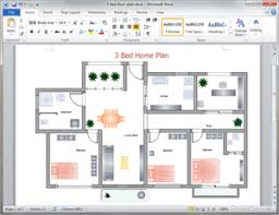 Microsoft Word Presentation Template Free Home Plan Templates For Word Powerpoint Pdf