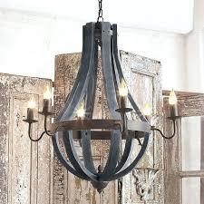 vineyard metal and wood chandelier wooden wine barrel stave chandelier vineyard metal wood chandelier