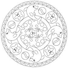 Mandala Coloring Pages For Kids Printable Coloring Pages Pokemon Sun