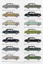 Mercedes Paint Colour Chart Mercedes Benz Ponton Paint Codes Color Charts Www
