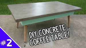 Ardex Feather Finish Countertops Diy Ardex Concrete Coffee Table Part 2 Of 2 Youtube