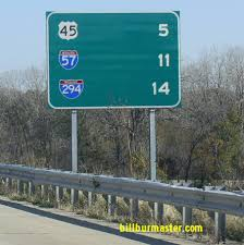 Interstate Mileage Chart Interstate 57 Kankakee Will County Line To 95th Street