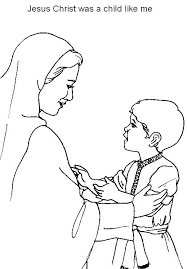 Small Picture coloring pages about jesus as a boy coloring pages about jesus as