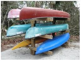 outdoor kayak rack homemade kayak storage rack building this while i wait for my new kayaks outdoor kayak rack