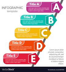 Elements By Design Five Steps Infographic Design Elements