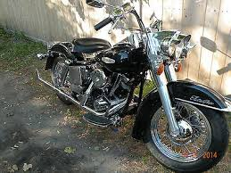 1972 flh harley motorcycles