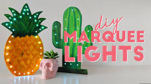 Cactus Light Anthropologie Cutest Diy Cactus Marquee Light