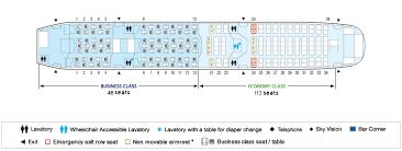 Boeing 787 Ana All Nippon Airways Seating Chart Qantas