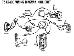 kz400 kick only wiring diagram chops scoots bobs