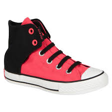 converse shoes for girls black. converse girl\u0027s chuck taylor 631820f ez slip sneakers - hot pink/black   shop your way: online shopping \u0026 earn points on tools, appliances, electronics shoes for girls black r