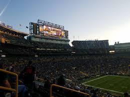 Green Bay Packers Seating Guide Lambeau Field