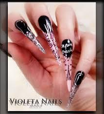 Top 10 Nail Designs Stiletto Nails Acrylic And Gel Nail Designs Top 10 Rihanna