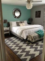 Exceptional Bedroom One Accent Wall U2013 Love The Calming Turquoise Color, W/ Tan Or Light  Brown