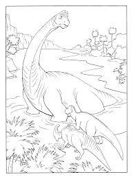 Kleurplaten Paradijs Kleurplaat Dinosaurussen