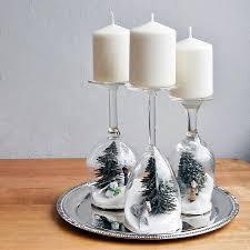 12 diy wine glass decorations wine glass holiday dioramas