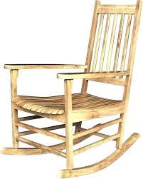 Simple Wooden Rocking Chair Suitable Simple Rocking Chair Simple