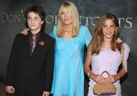 daniel radcliffe who plays harry potter left the  daniel radcliffe who plays harry potter left the characters creator jk rowling
