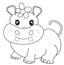Hippo Coloring Page Bahamasecoforumcom